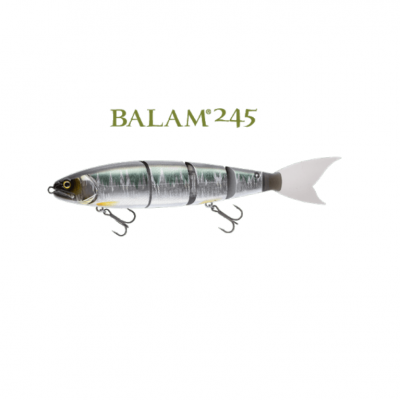 Amostra Madness Japan Balam 245 Swimbait