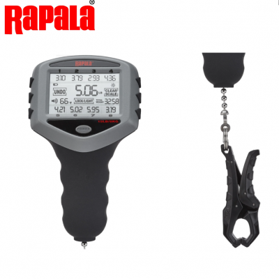 Balança Digital Rapala Touch Screen Tournament Scale 15lb