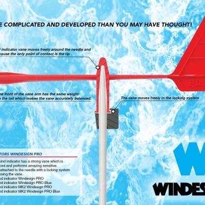 Pro wind indicator Windesign Sailing