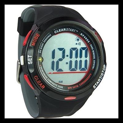 Ronstan RF4055 ClearStart 50mm Sailing Watch - Black/Grey [RF4055A]
