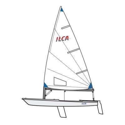 RIO TECNA ILCA 6 With Carbon Top Section