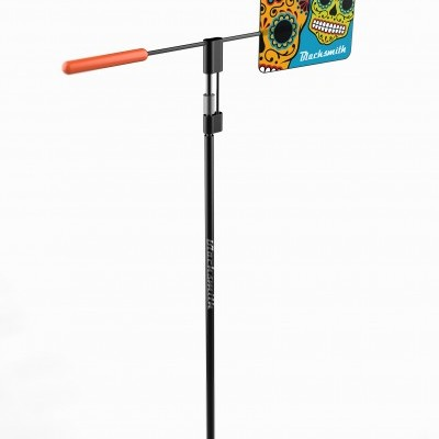 Optimist Wind Indicator - Crazy Kids - Mexican Skull