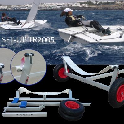 Suplemento: carro de cais, capas de casco superior e inferior e de mastreação