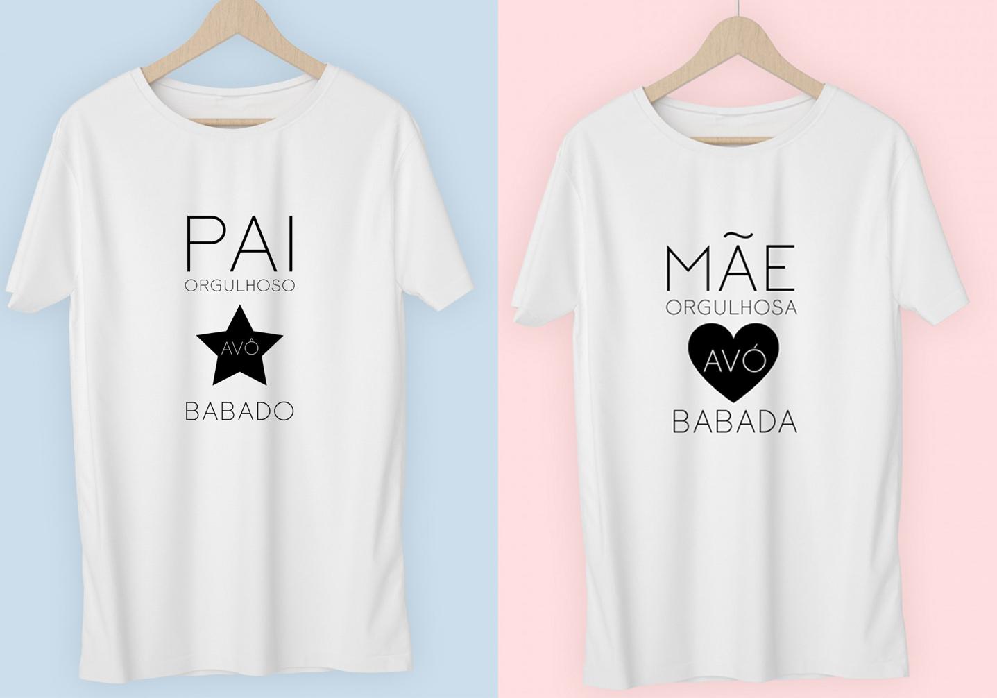 Conjunto T-shirts Avó&Avô