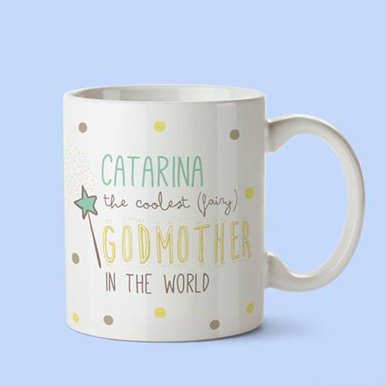 Caneca Coolest Godmother