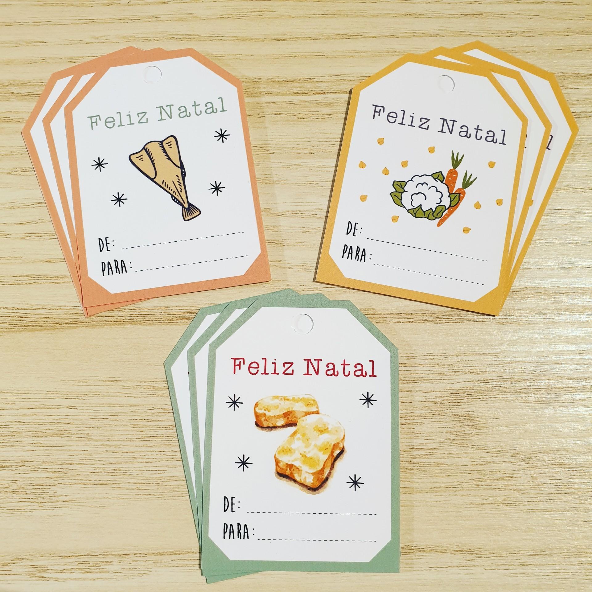 Etiquetas de cartão Tradição Portuguesa