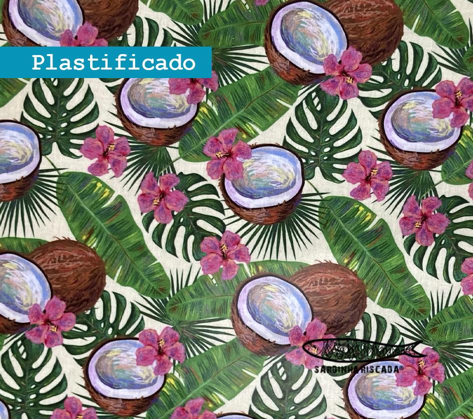 Coco Tropical - Plastificado