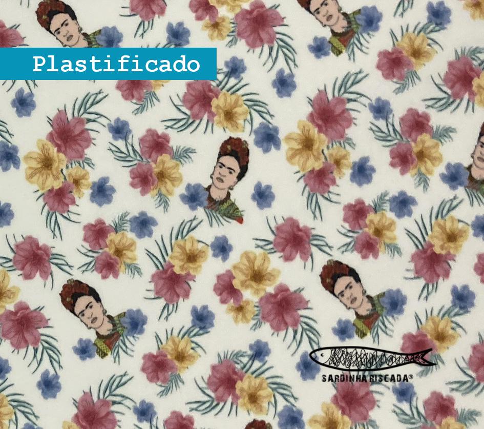 Frida floral - Plastificado