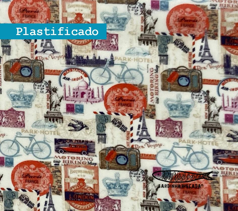 Paris - Plastificado