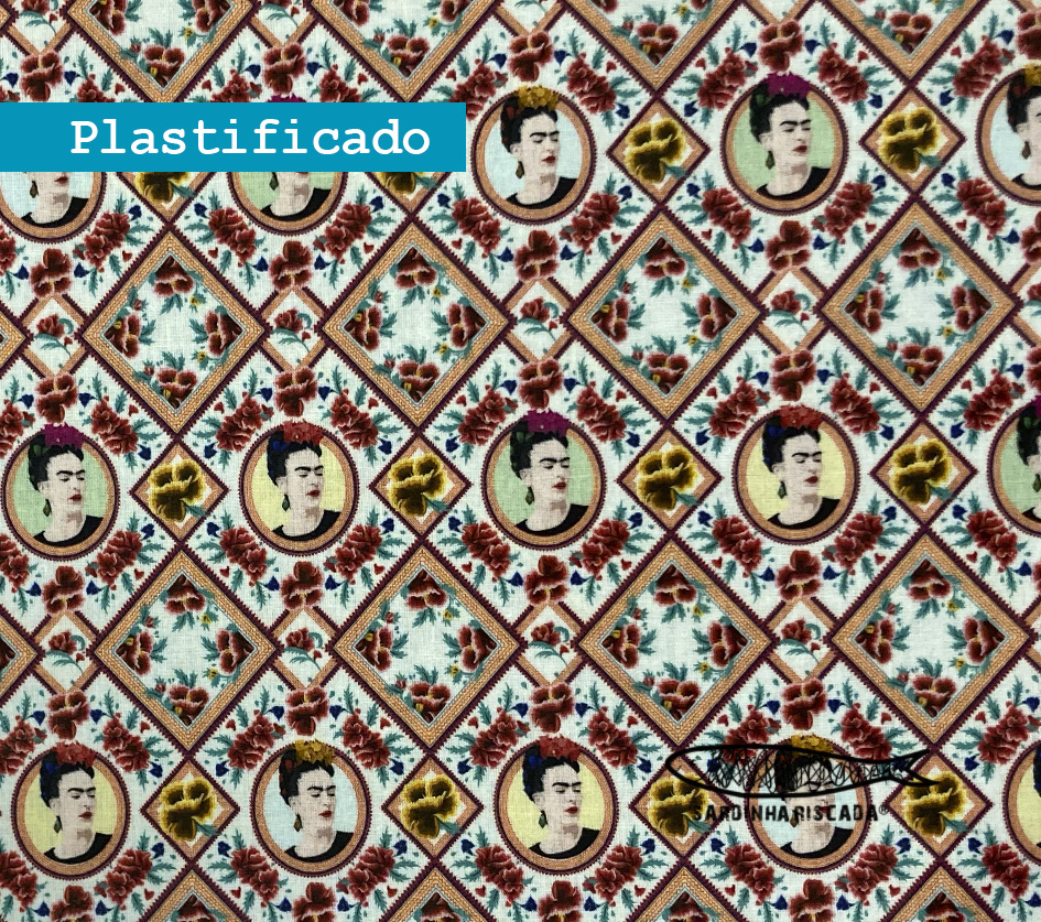 Frida losangos - Plastificado