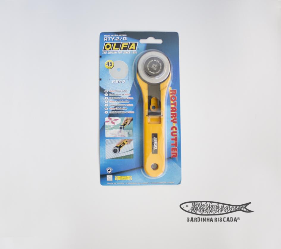 Cortador Rotativo 45mm Olfa