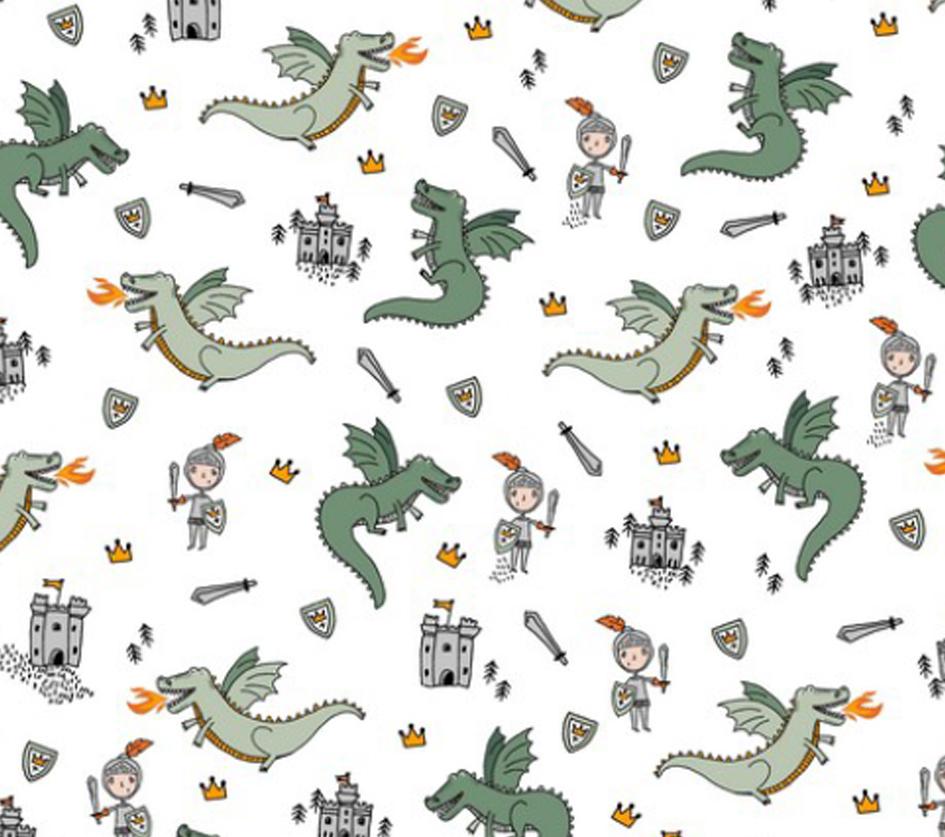 Fighting Dragons - Branco