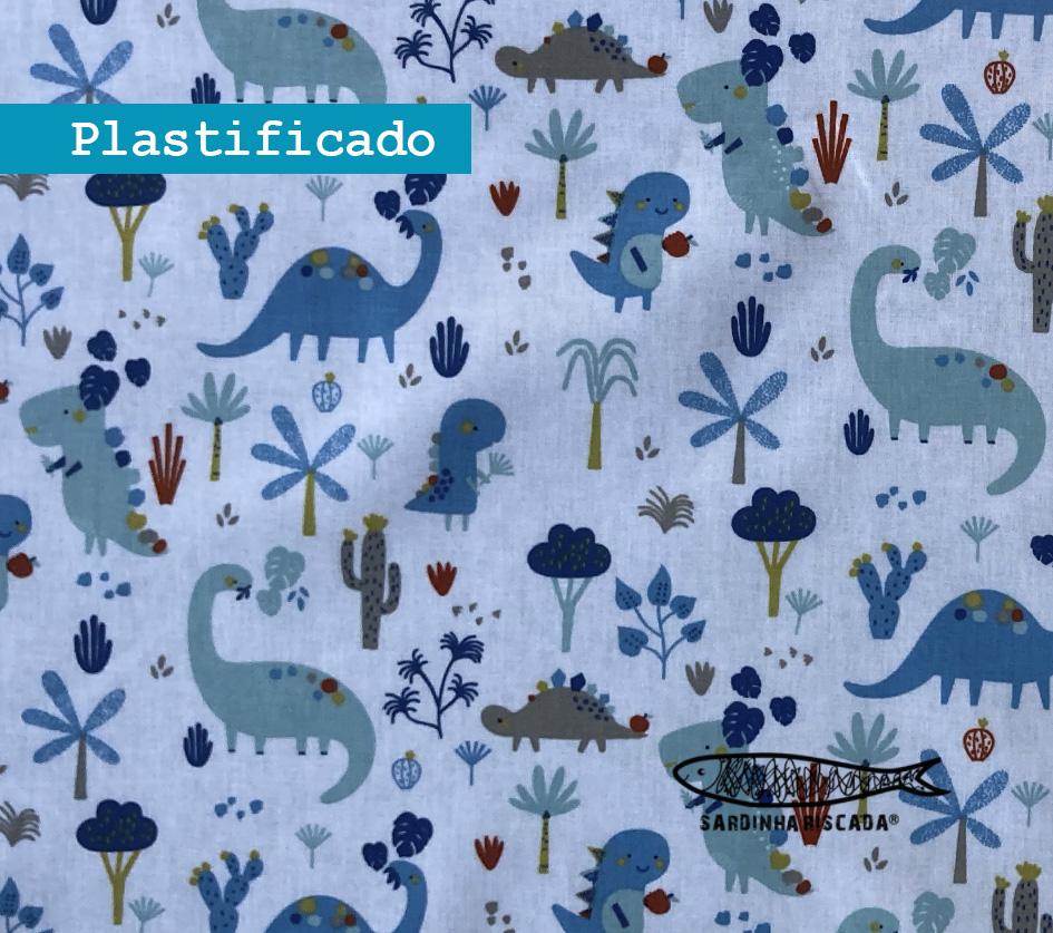 Dino - Fundo Branco - Plastificado