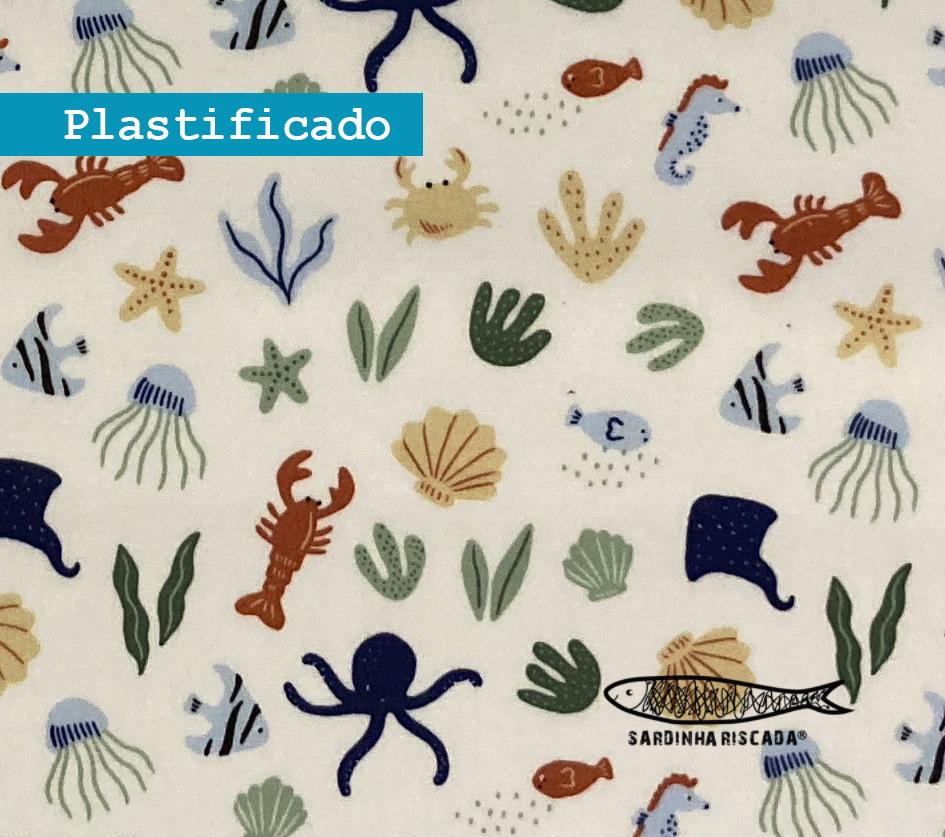 Underwater World - Branco - Plastificado