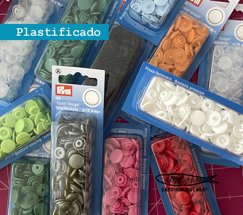 Molas de pressão plástico  - Prym (kam)