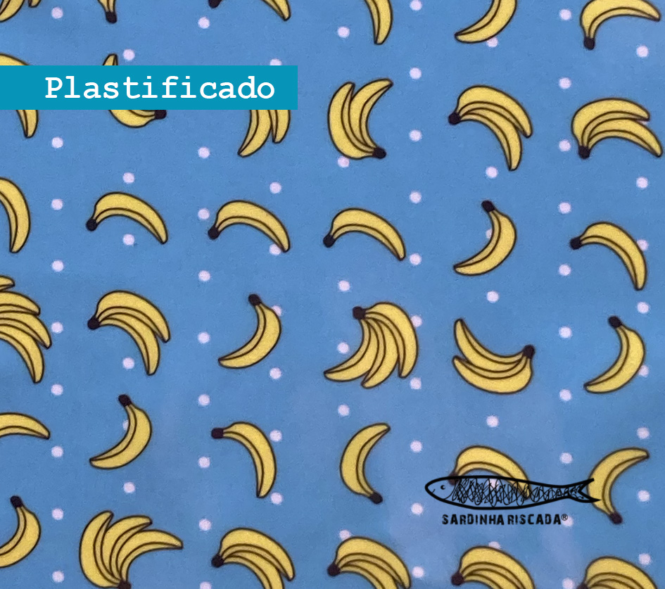 Bananas - Plastificado