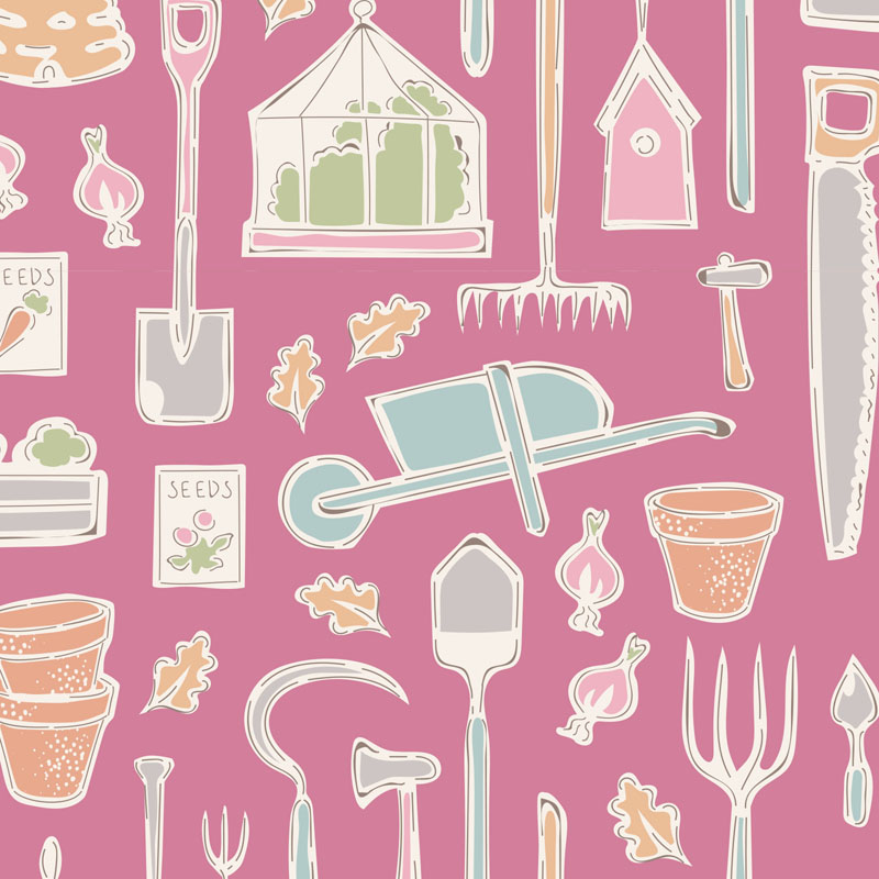 Maple Farm -- Farm  Tools Pink