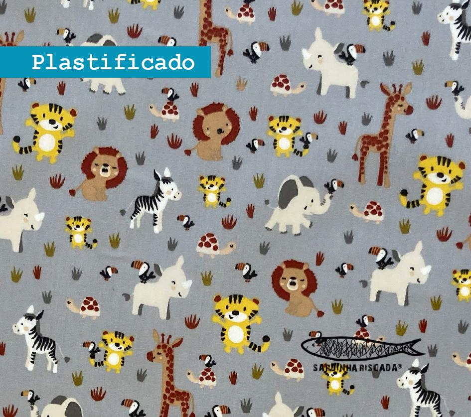 Sweet animals cinza - Plastificado