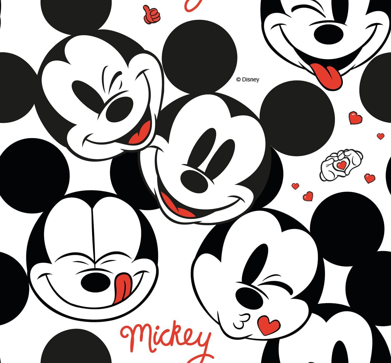 Mickey Mouse - Fundo Branco