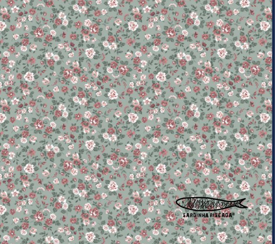 Romantic Flower - Multi Mint