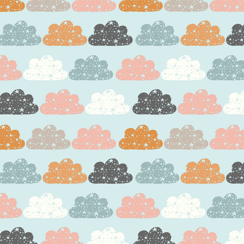 Brilha estrelinha - Nuvem Color Azul