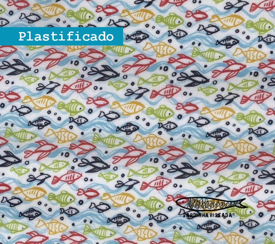 Peixes Coloridos - Plastificado