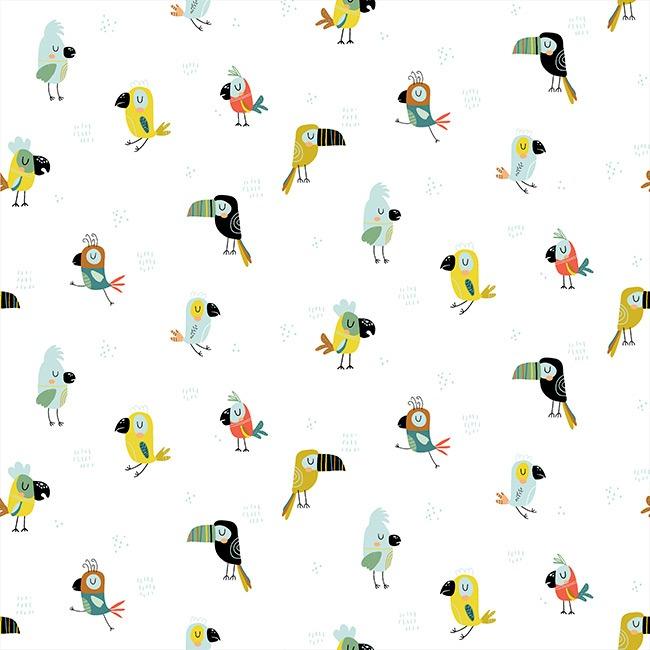 Cool Birds - Branco