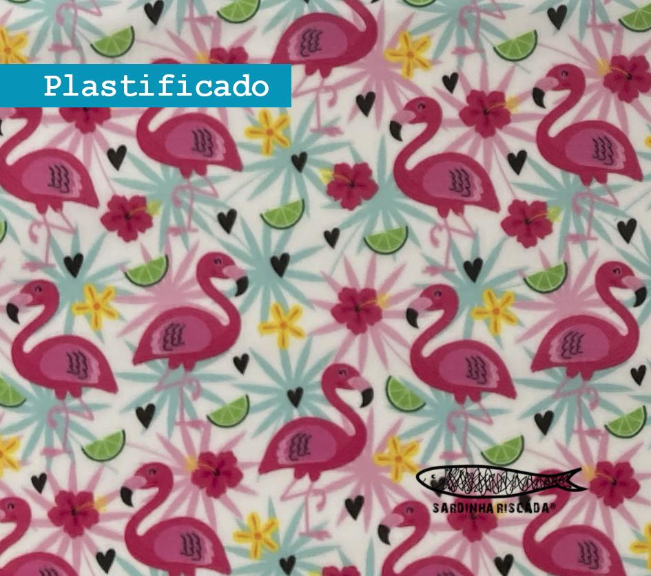 Flamingos - Plastificado