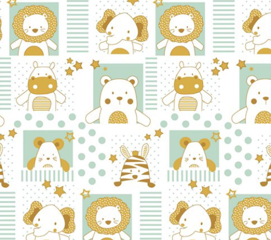 Sweet Baby Animals - Branco