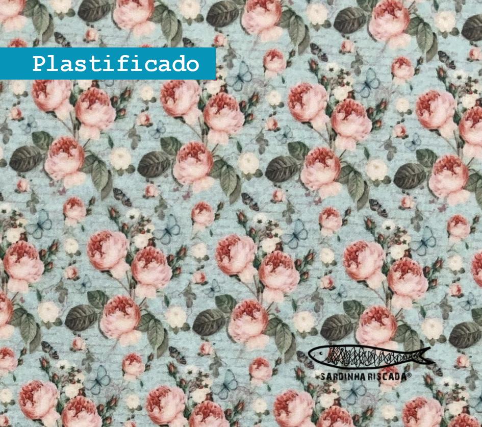 Flores - Plastificado