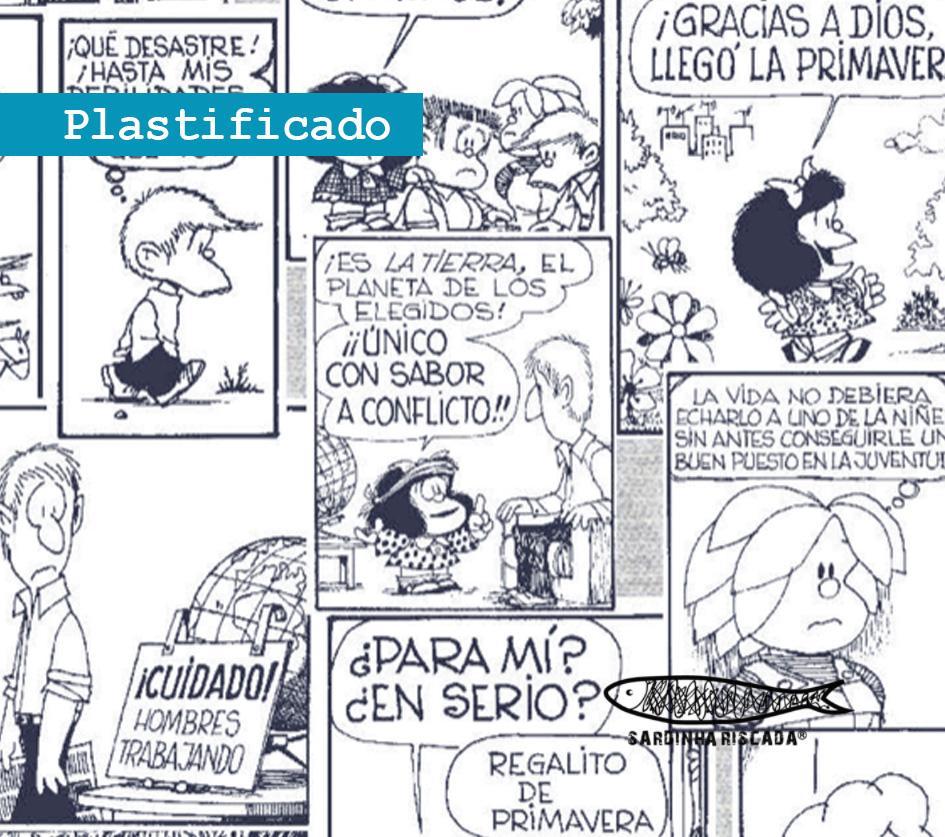 Mafalda - B.D.  - Plastificado