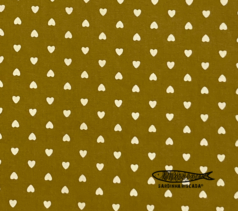 Wahed Cotton Hearts - Mostarda