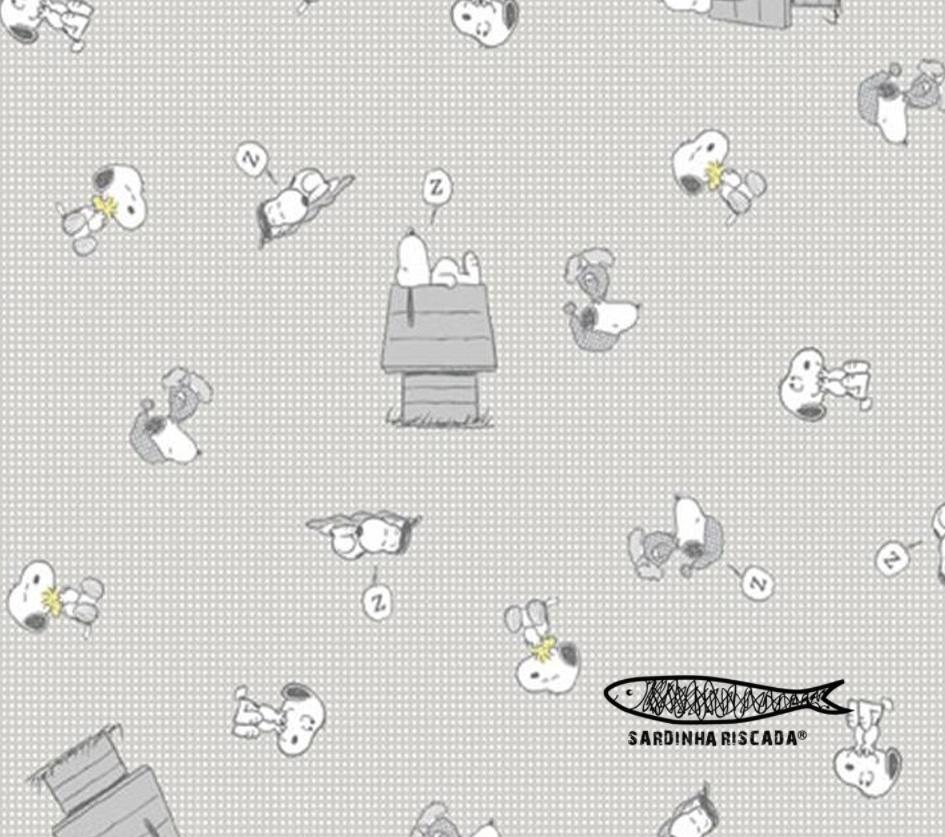 Snoopy - Cinza