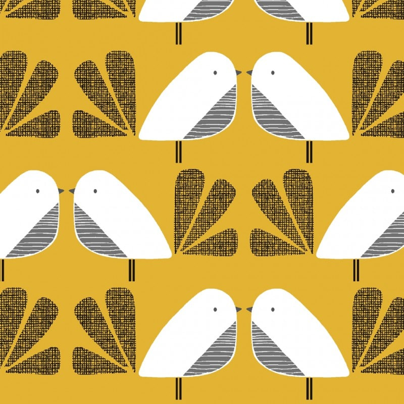 Nesting Birds - Birds Yellow