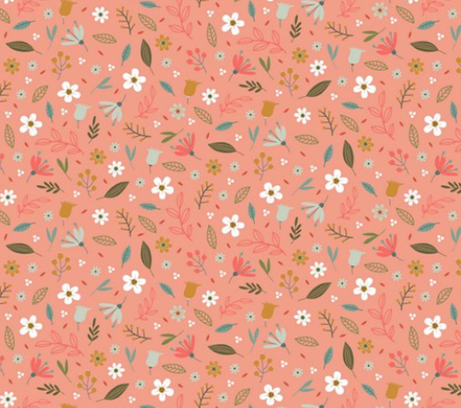Sweet Flowers - Coral