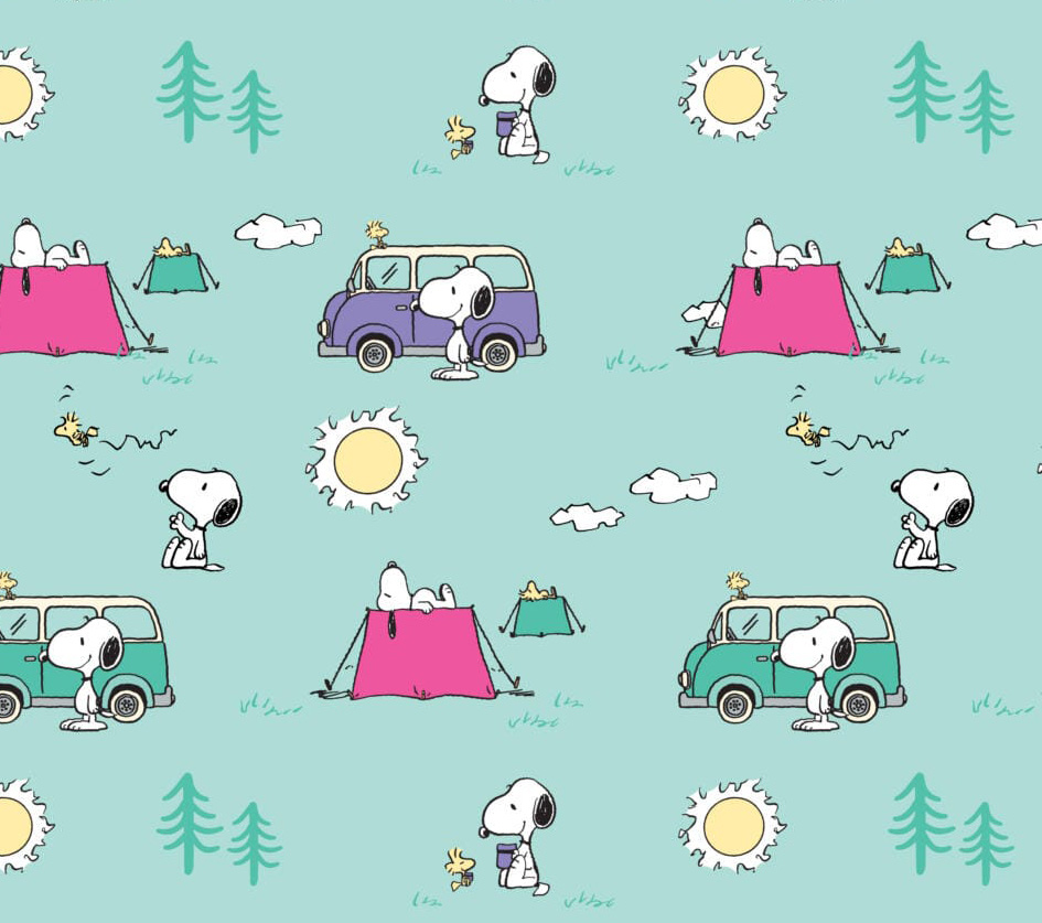 Snoopy - Camping in the Forest