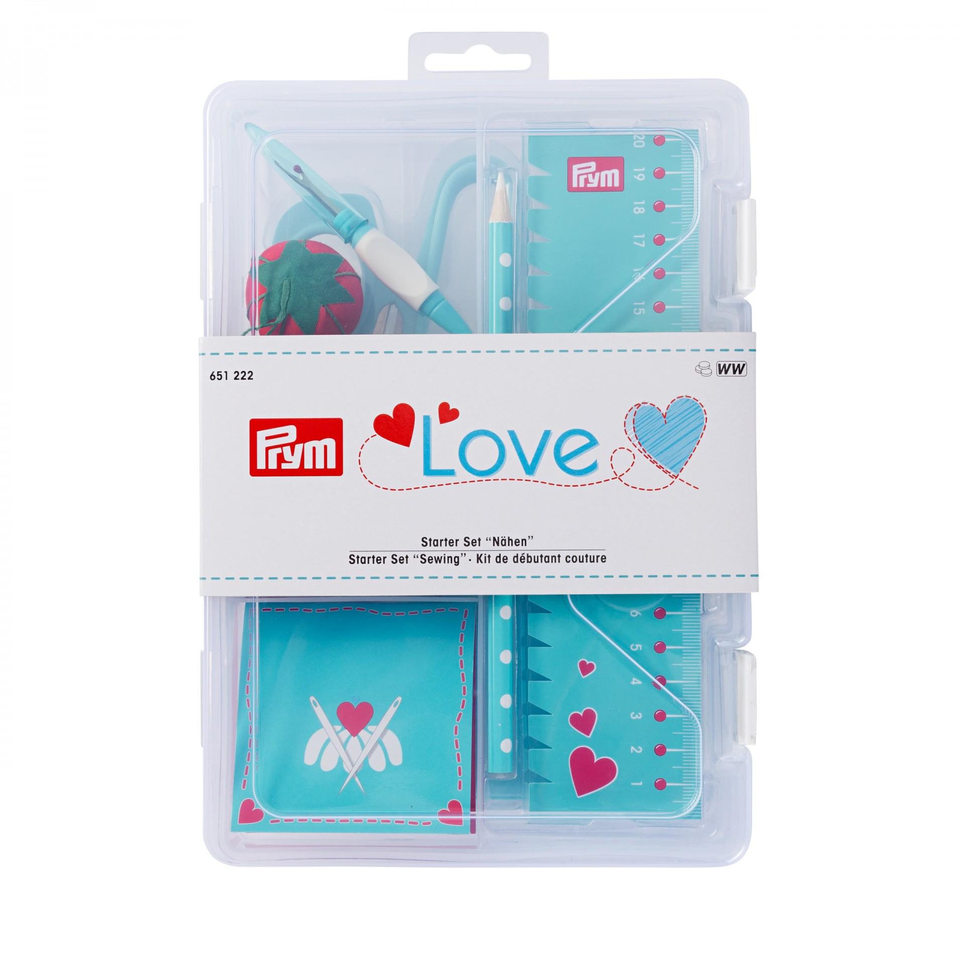 Kit de iniciação à costura azul  - Prym Love