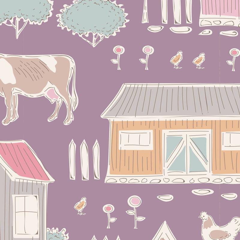 Maple Farm -- Tiny Farm Mauve
