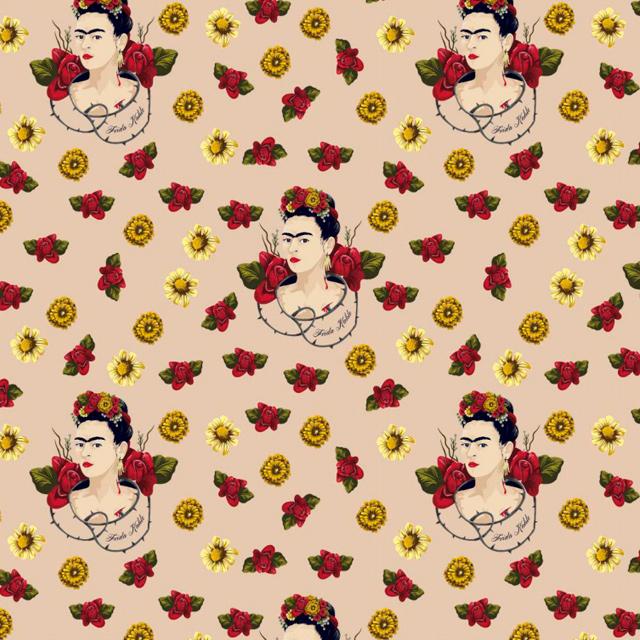 Frida Kahlo -  Floral Rosas