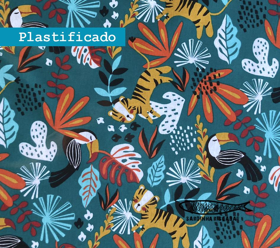 Jungle - Fundo Verde - Plastificado