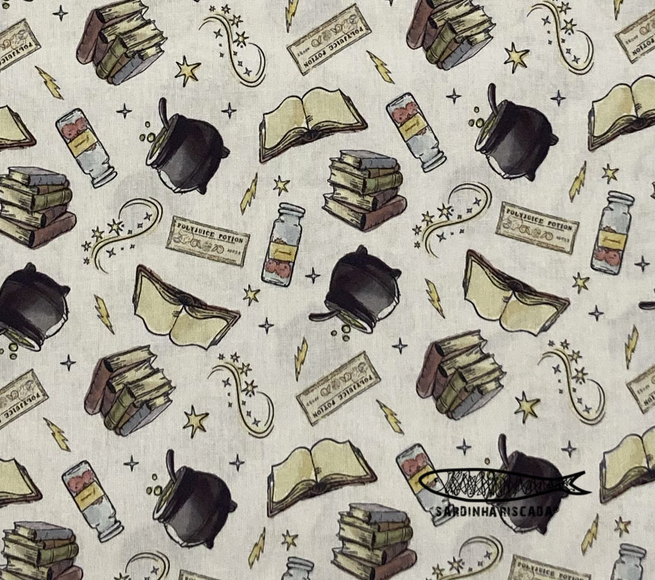 Harry Potter - Potions Fabric