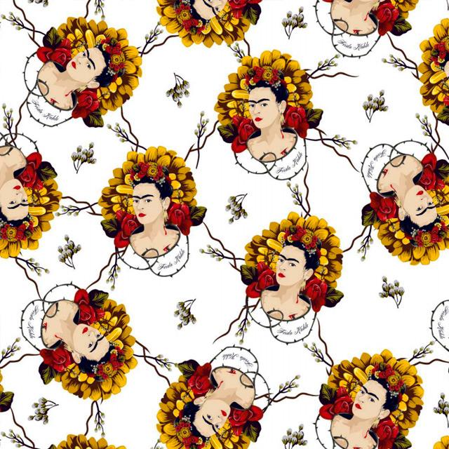 Frida Kahlo -  Floral Ramagens