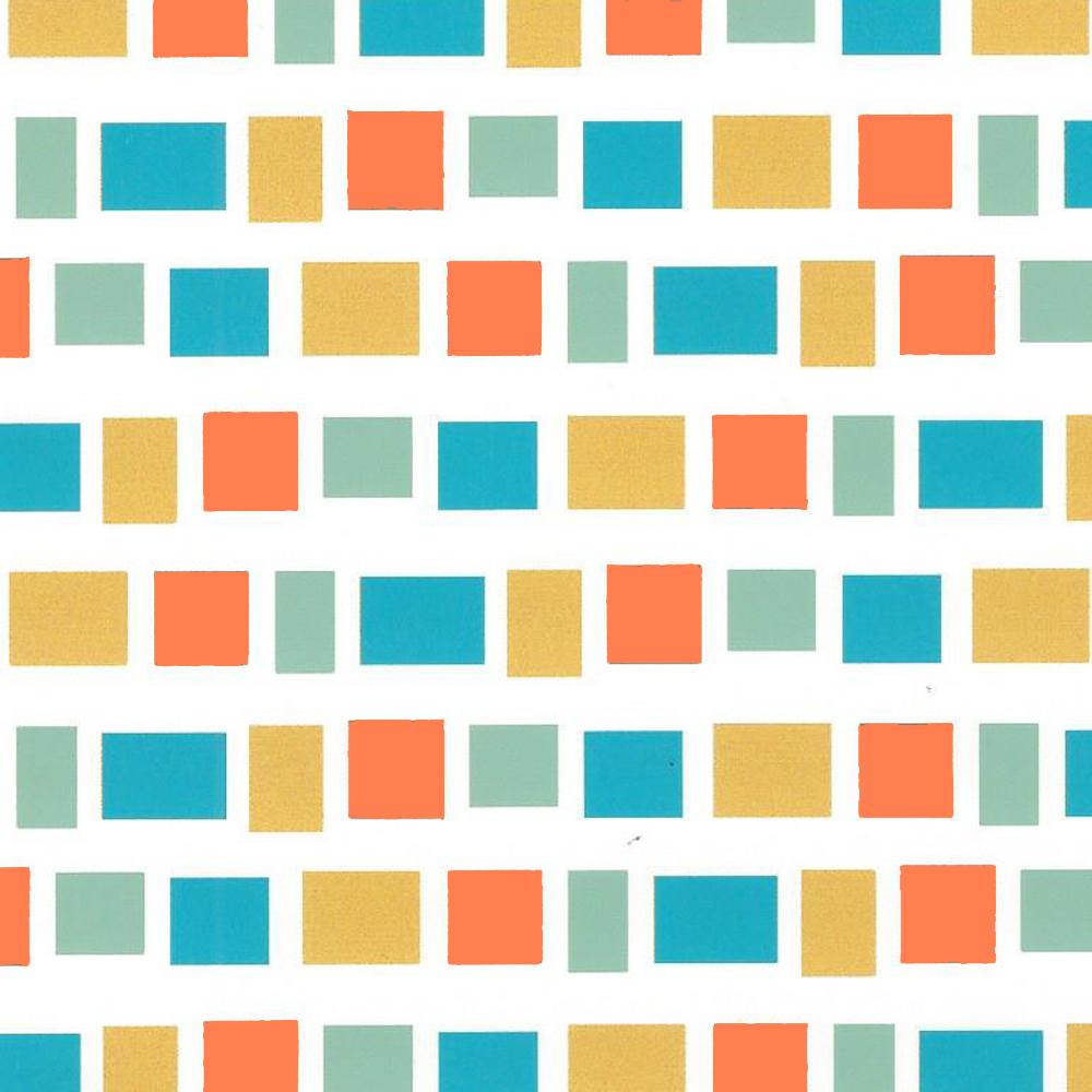 Quadrados Azuis e Laranjas