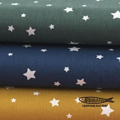 Estrelas Cores Fortes