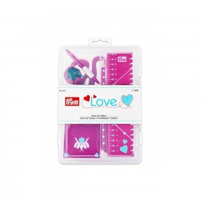 Kit de iniciação à costura  rosa - Prym Love