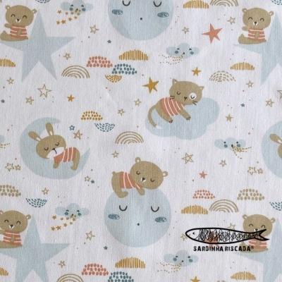Animais Dorminhocos - Fundo Branco