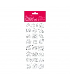 Christmas Stickers - Advent Numbers