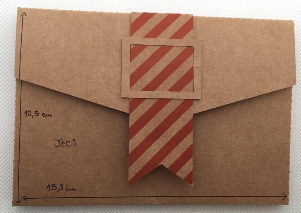 Envelope Kraft JEC1