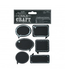 Chalkboard Stickers - Speech Bubbles