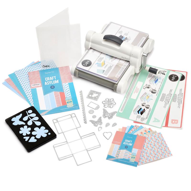 Starter Kit Big Shot Plus White & Grey